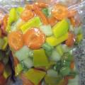 SALADA MIX (abóbora, cenoura, chuchu e vagem)