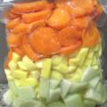 SELETA LEGUMES (cenoura, chuchu e batata baroa)